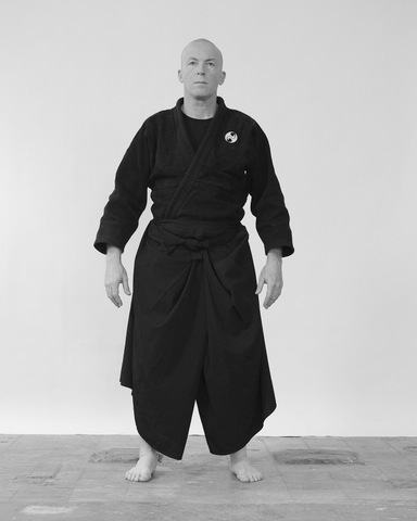 Shizen tai no kamae, natural body stance - Ninjutsu